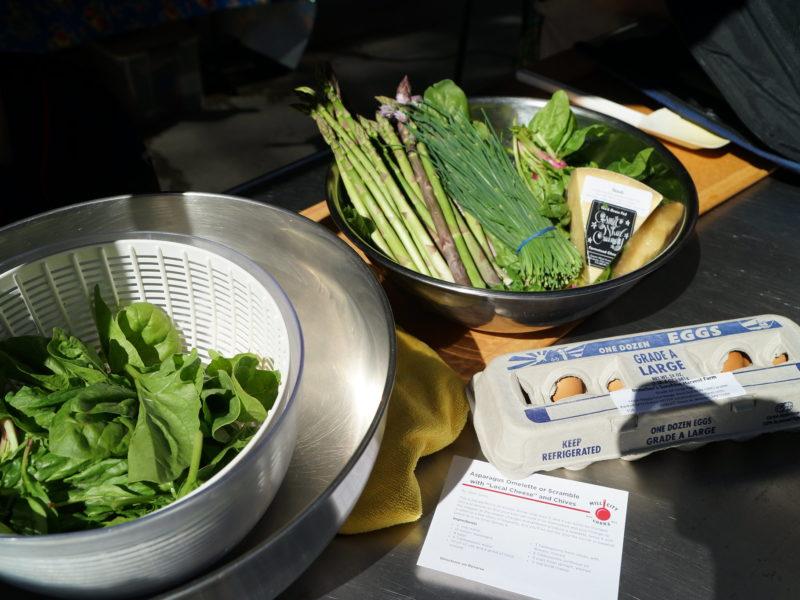 Asparagus Omelette 2019