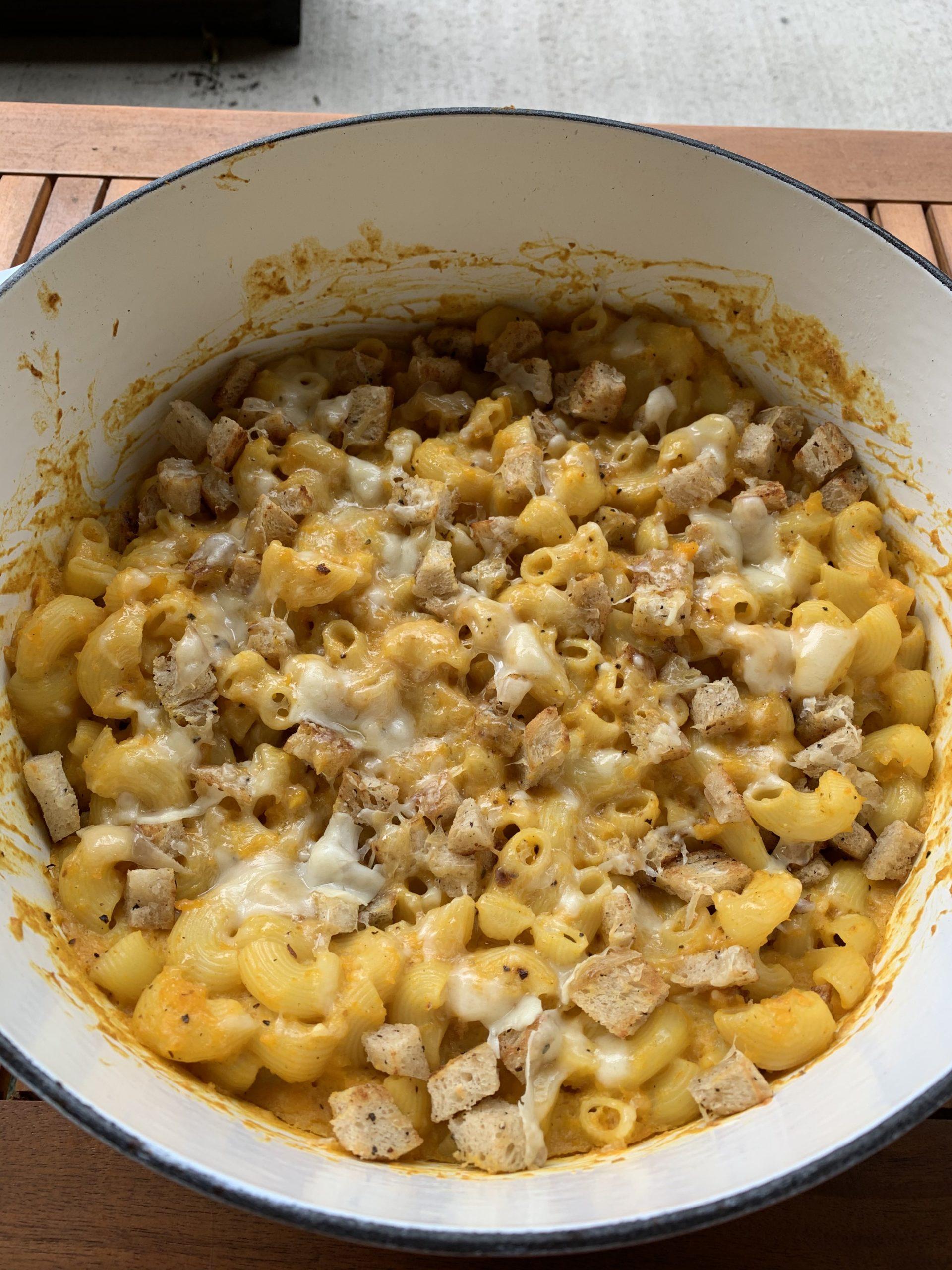 Squash Mac and Cheese