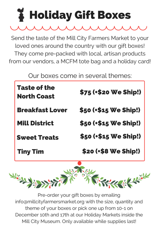 gift Boxes pricing Flyer