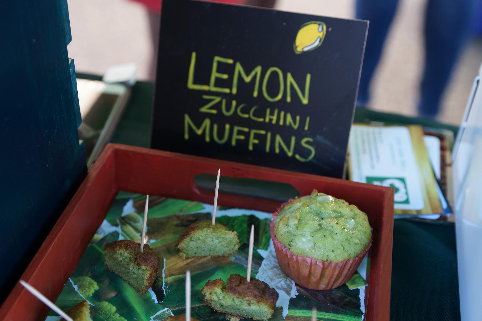 Green Garden Bakery lemon zucchini muffins (1)