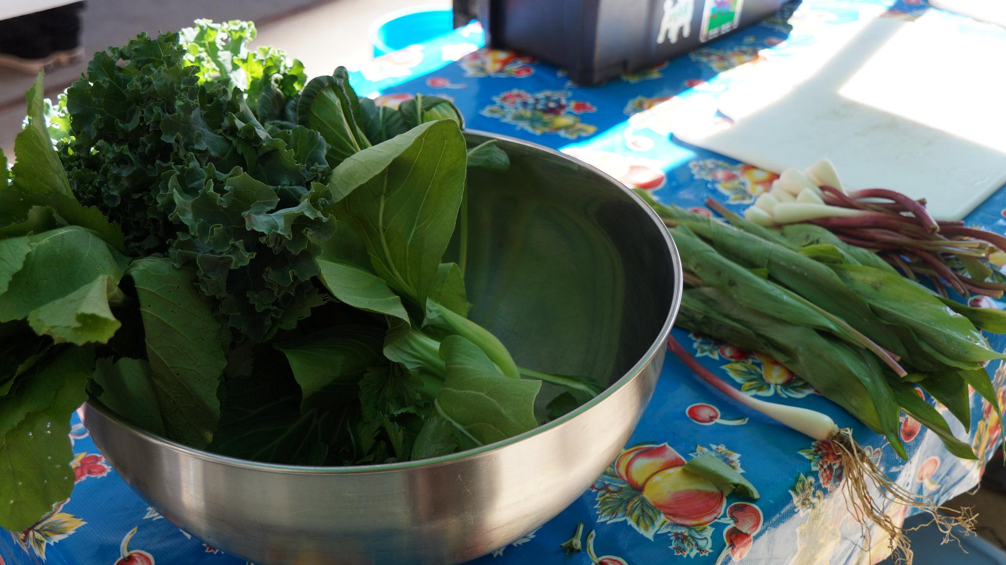 Greens Wild Rice Salad