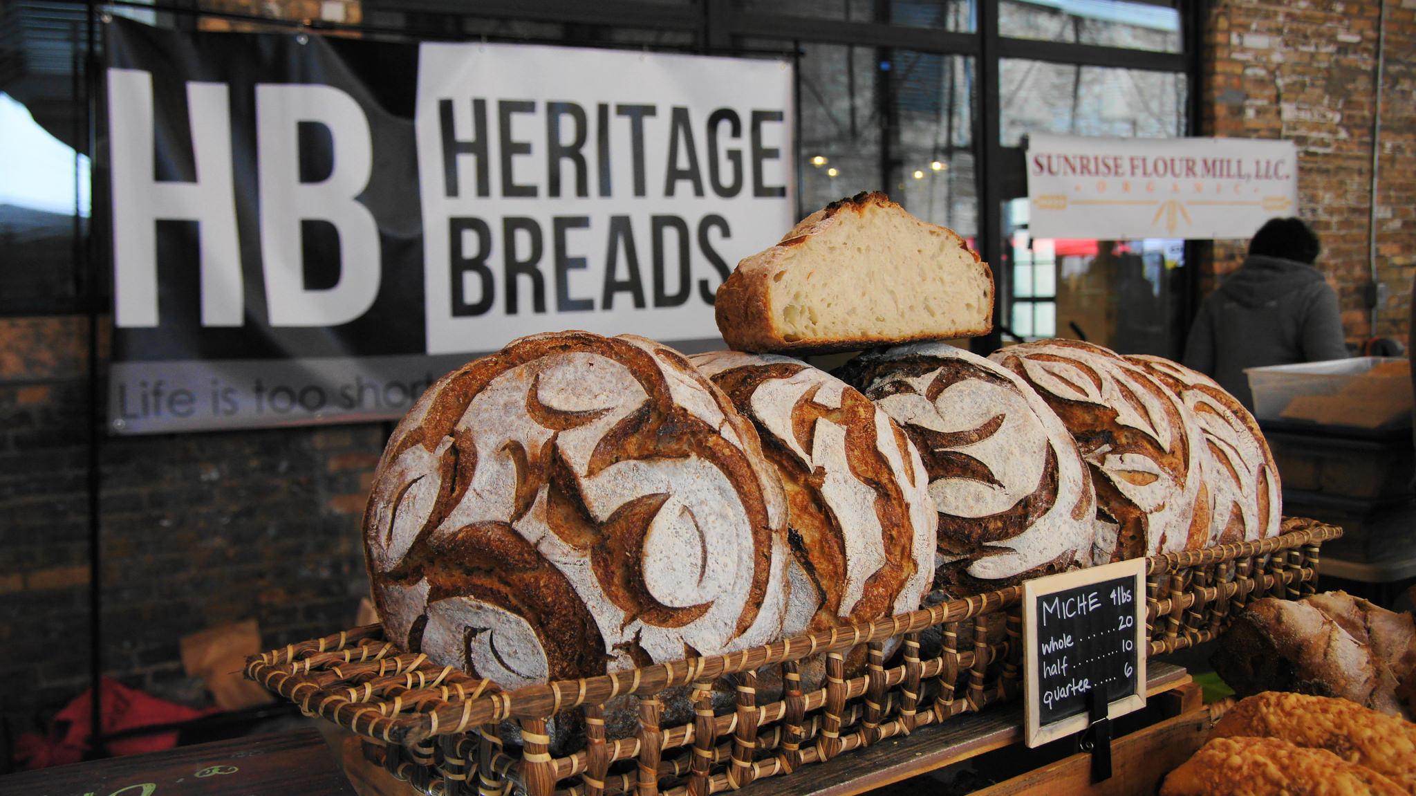 HB beautiful miche bread