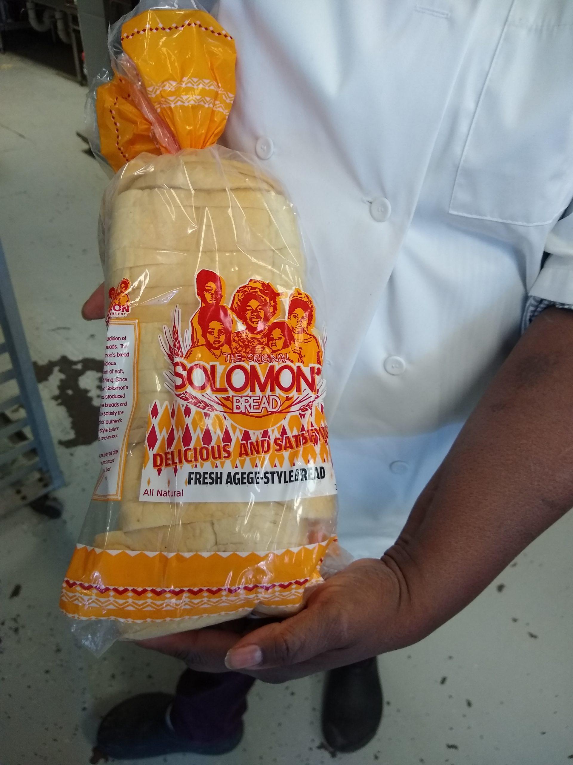 Solomon's Bakery Bread