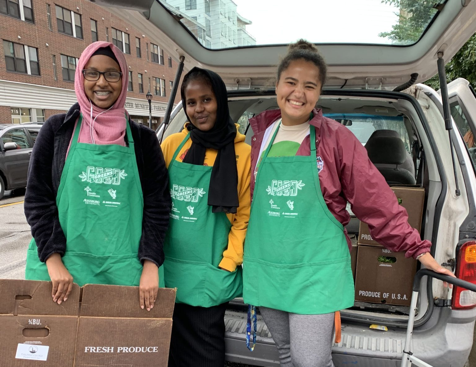Greens for Good volunteers July 2019