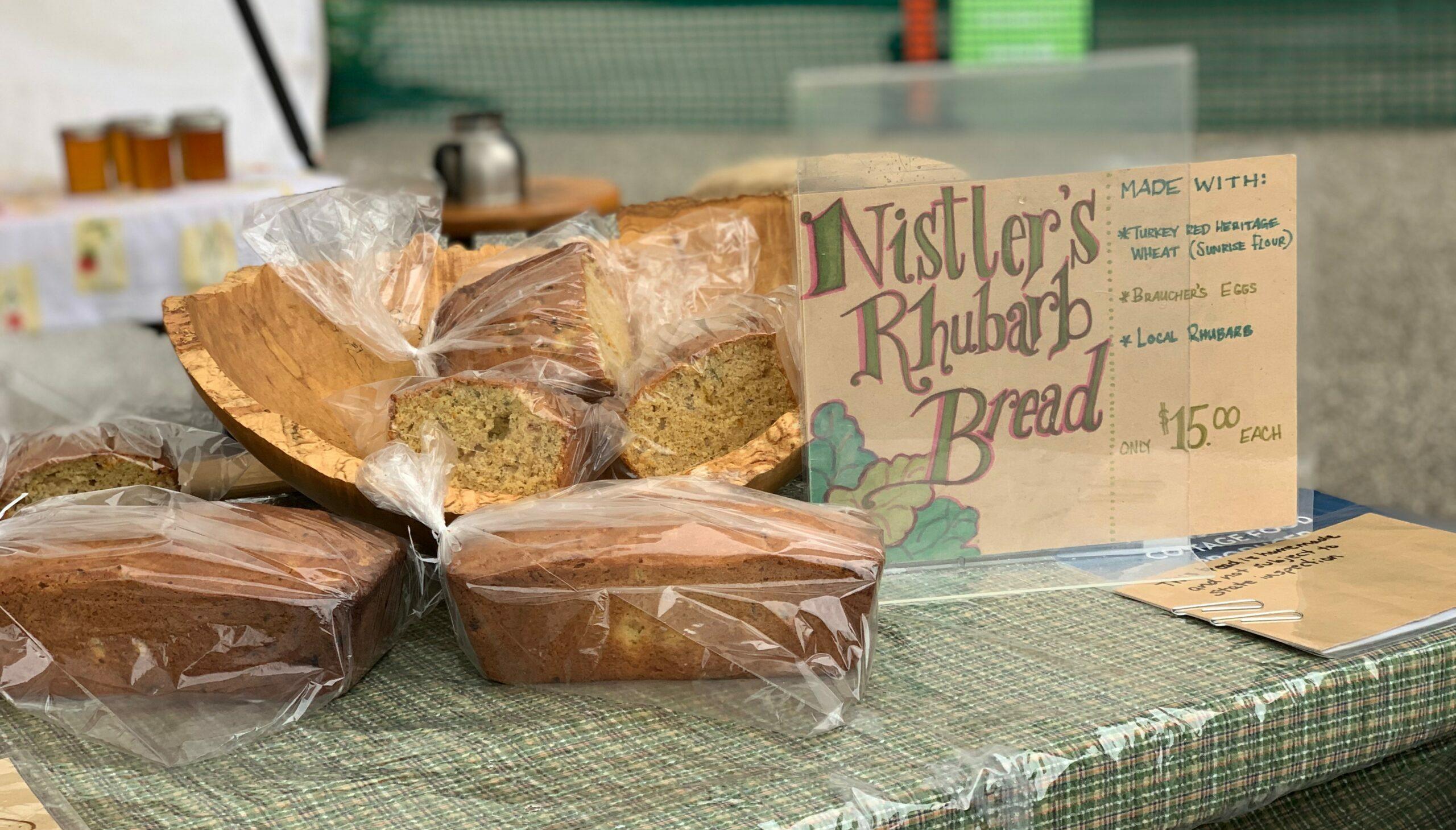 Nistler Farms Rhubarb Bread