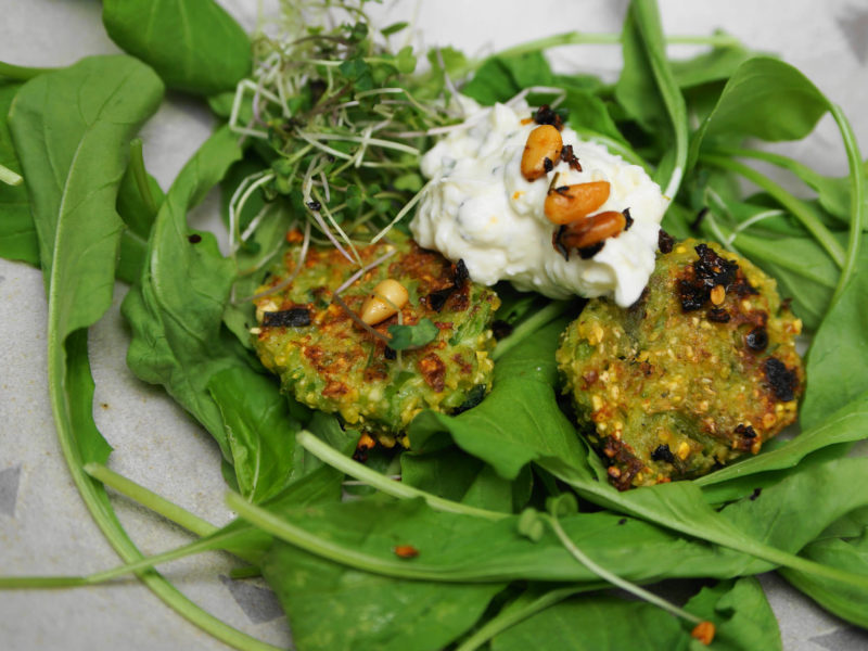 Pea and Mint Croquettes