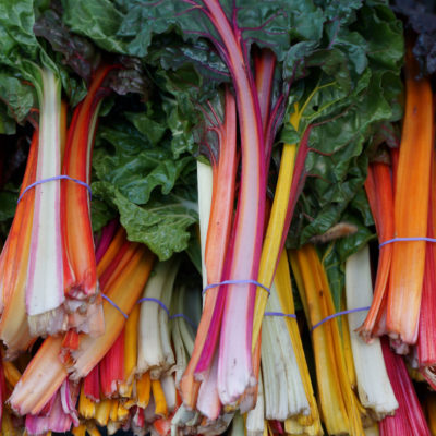 Fermented Swiss Chard Stems