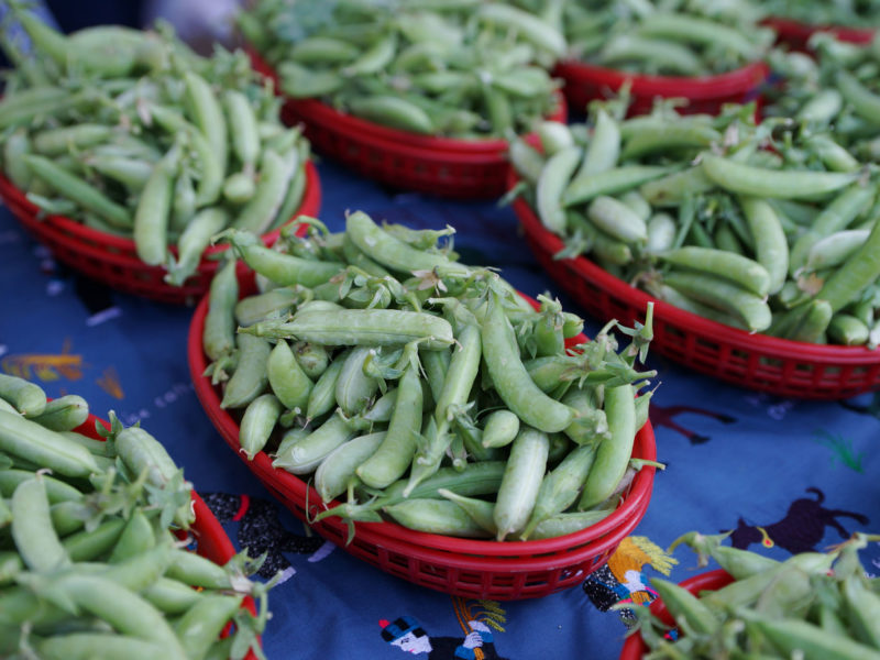 Asian Sesame Snap Peas Saturday Farmers Market