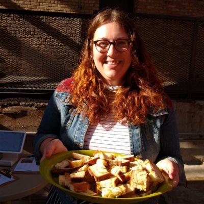 Sweet Cheddar Pesto Bread