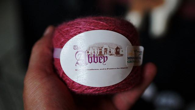 The Abbey Alpaca yarn