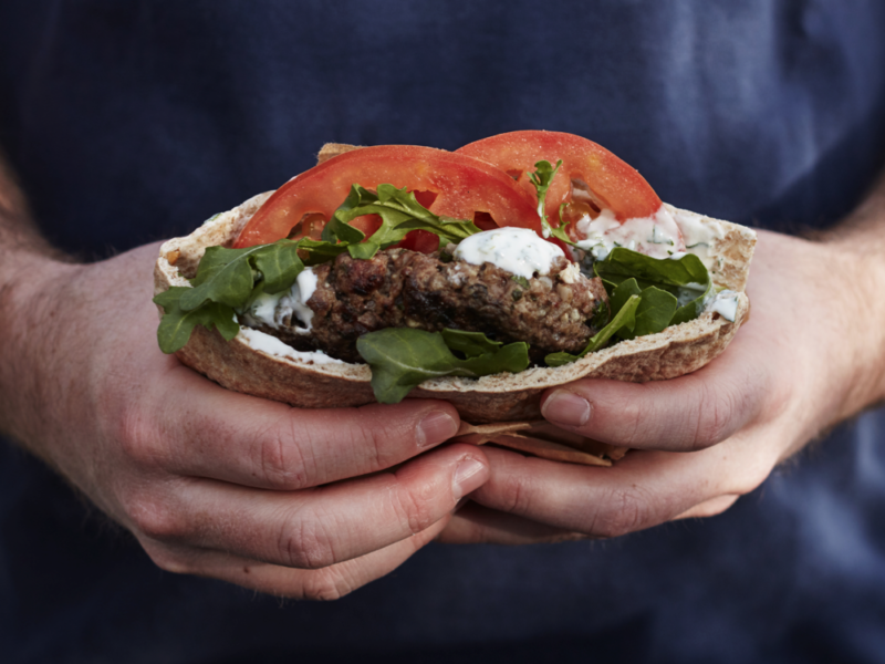 Lamb and Feta Burgers