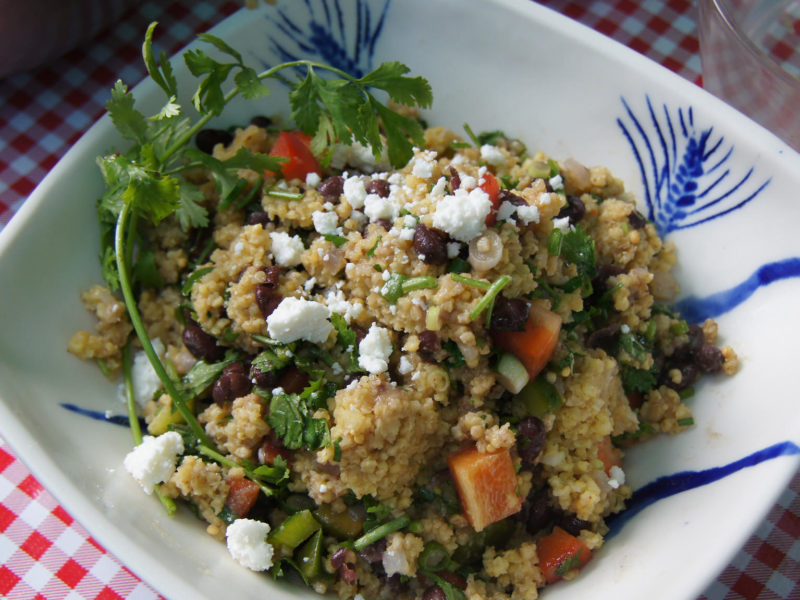 Toasted Millet Salad