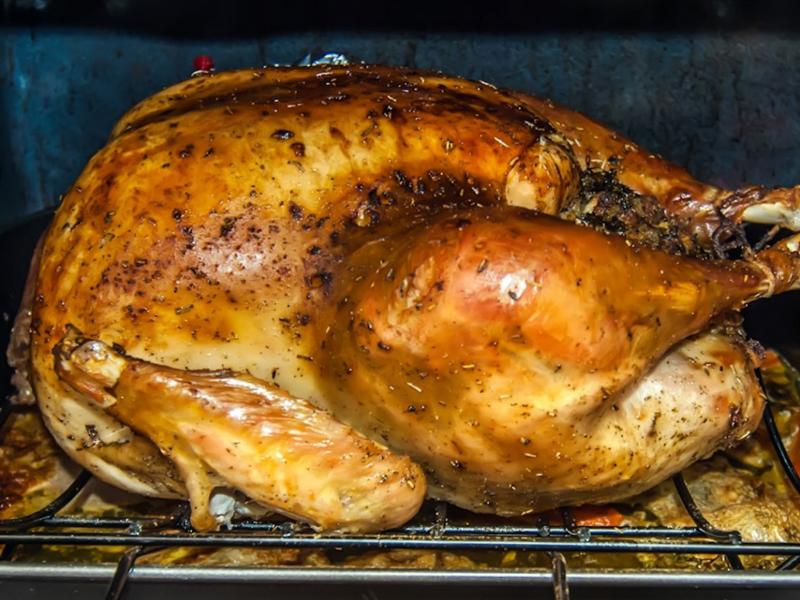 Turkey with Roasted Lemon, Fennel, Cumin & Coriander