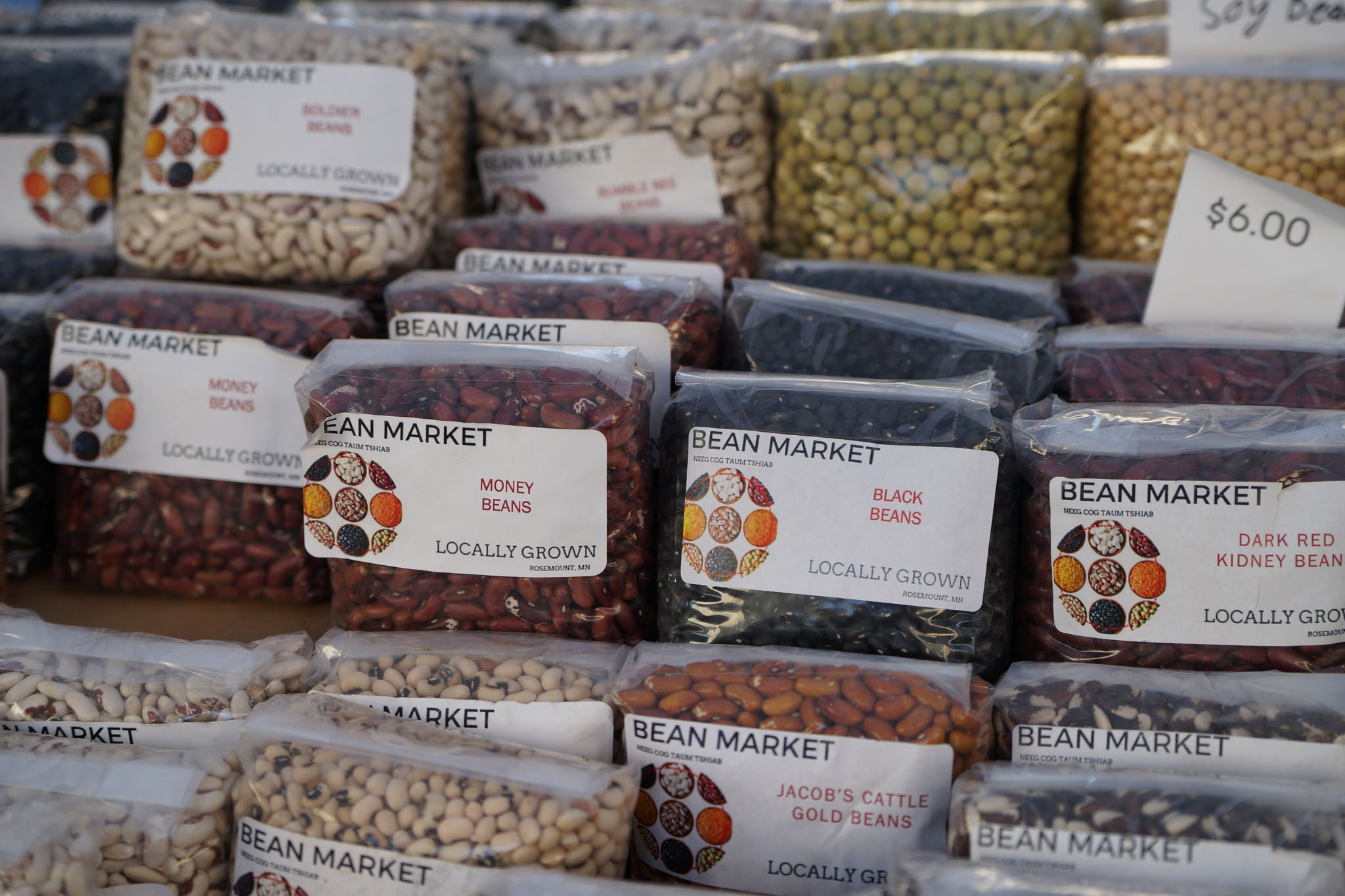 Market Secrets Beans at Indoor Winter Market
