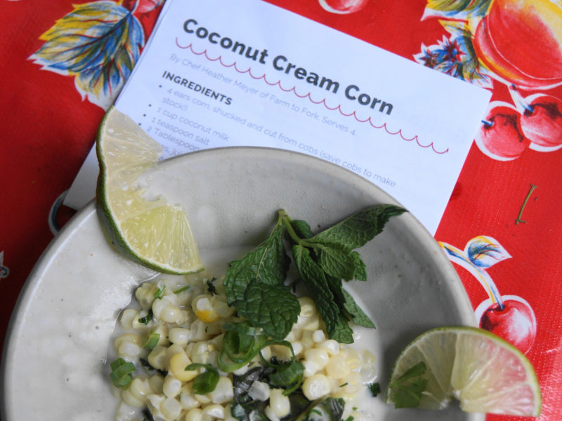 coconut cream corn