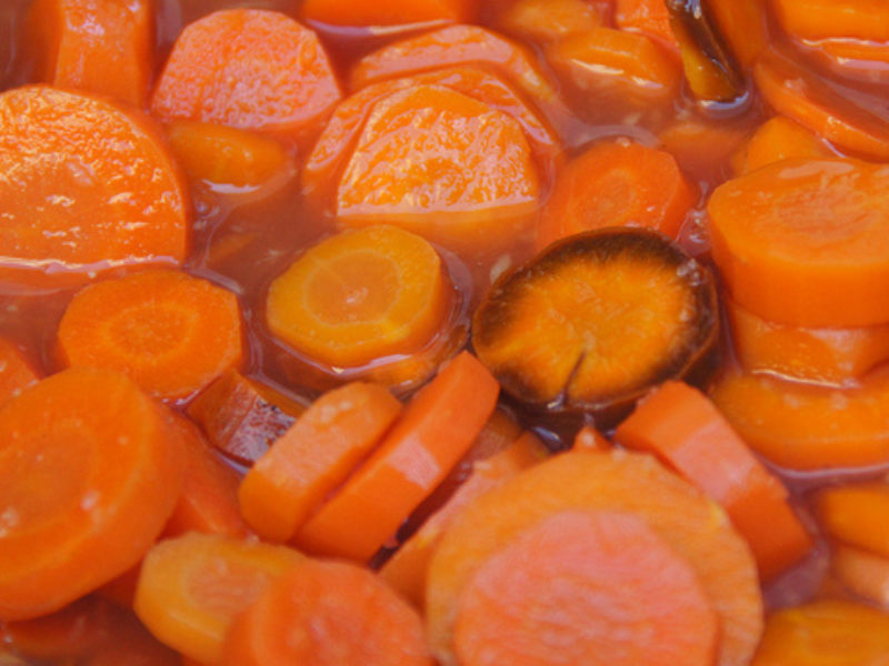 Orange Ginger Glazed Carrots